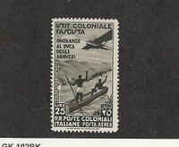 Italian Colonies, Postage Stamp, #C28 Mint NH, 1934, JFZ