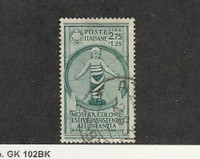 Italy, Postage Stamp, #375 Used, 1937, JFZ