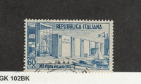 Italy, Postage Stamp, #600 Used, 1952, JFZ