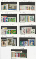 Italy, Postage Stamp, #1087//1152 Mint NH, 1972-74, JFZ