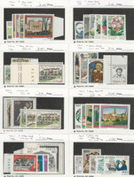 Italy, Postage Stamp, #1401//1474 Mint NH, 1980-81, JFZ