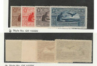 Italy, Postage Stamp, #C23-C26 Mint Hinged, 1930 Airmail, JFZ