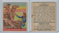 R773 Goudey, Indian Gum, 1947, #90 Unhorsed