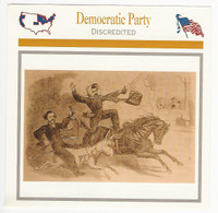 1995 Atlas, Civil War Cards, #99.02 Democratic Party