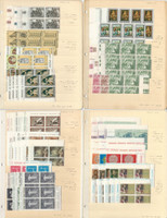 Vatican City, Postage Stamp, #392//517 Blocks Mint NH, 4 Stock Pages Lot, JFZ