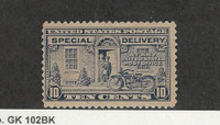 United States, Postage Stamp, #E12 Mint LH, 1922 Motorcycle, JFZ