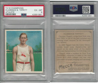 T218 Mecca/Hassan, Champions, 1910, Clarence Tippett, Runner, PSA 6 EXMT