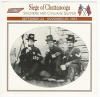 1995 Atlas, Civil War Cards, #101.05 Siege of Chattanooga