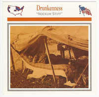 1995 Atlas, Civil War Cards, #101.11 Drunkeness