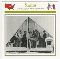1995 Atlas, Civil War Cards, #101.14 Surgeons