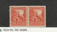 New Zealand, Postage Stamp, #188 Mint NH Pair, 1935, JFZ