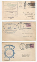 USA Ship Navy Covers, 1934, USS Lexington, San Francisco, Reina, DKZ