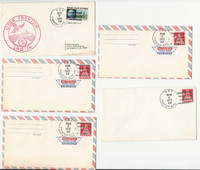 USA Ship Navy Covers, 1971, USS Trenton, Lot of Five, DKZ