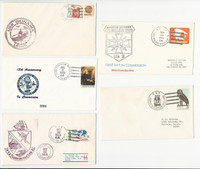 USA Ship Navy Covers, 1978, USS Okinawa Marion Belleau Wood Vancouver, DKZ