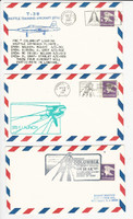 USA Flight Covers, 1981, Columbia, T-38 Shuttle, STS-1 Launch, DKZ