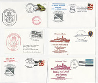 USA Ship Navy Covers, 2005, USS Kearsarge, La Salle, Mesa Verde, DKZ