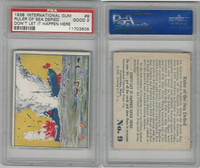 R44 International, Don't Let It Happen, 1938, #9 Ruler Sea Defied, PSA 2 Good