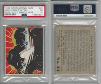 R44 International, Don't Let It Happen, 1938, #23 Flying Fortress, PSA 1.5