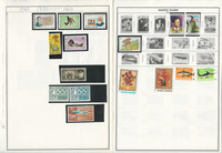 Maldives & Mali Stamp Collection on 22 Harris Album Pages