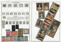 Paraguay Stamp Collection on 18 Harris Album Pages