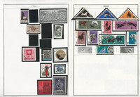 Poland Stamp Collection on 50 Harris Album Pages