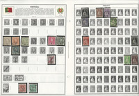 Portugal & Colonies Stamp Collection on 28 Harris Album Pages