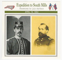 1995 Atlas, Civil War Cards, #114.06 Expedition to South Mills