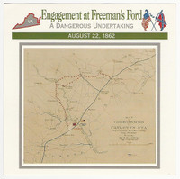 1995 Atlas, Civil War Cards, #115.02 Engagement at Freeman's Ford