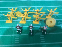 1970's Tudor Electric Football Players Lot, Kickers, Players