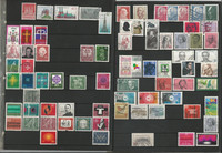 Germany Used Stamp Collection, Nice Condition Lot, 11 Pages, DKZ