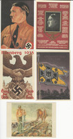 Germany Post Card Lot Reproductions, Lot 27, World War II & Zeppelin, DKZ