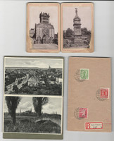Germany Post Card Lot, Fold Outs 2 Books + Cover, DKZ