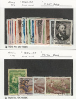 Russia Postage Stamp, #1568-83, 1586-89 Used, 1951, JFZ