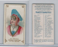 N70 Duke, Actors and Actresses, 1889, Fay Templeton, France (B)