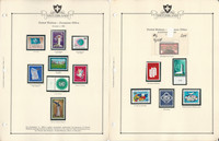 United Nations Stamp Collection, Geneva 1969-74 Mint NH 5 Minkus Pages, JFZ