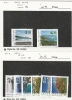 New Zealand, Postage Stamp, #New Issues Lot C, Sights, JFZ
