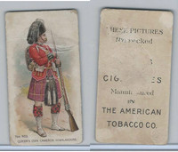 T424 American Tobacco Co., Military Uniforms, 1896, 79th Reg. Queens Highlanders