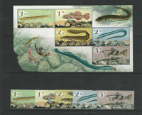 New Zealand, Postage Stamp, #New Issue Lot M, Fish, JFZ