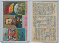 N126 Duke, Rulers, Flags, Coats of Arms Tri-Fold, 1889, Baden, Duke Frederic