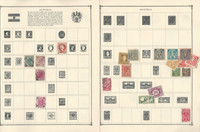 Austria Stamp Collection on 20 Scott Album Pages To 1981