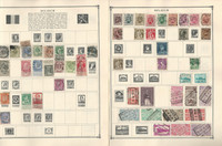 Belgium Stamp Collection on 22 Scott Album Pages To 1981