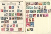 Chile Stamp Collection on 20 Scott Album Pages To 1981