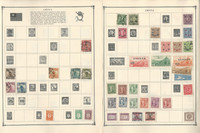 China Stamp Collection on 24 Scott Album Pages To 1981