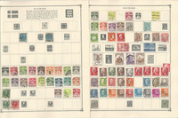 Denmark Stamp Collection on 21 Scott Album Pages To 1981