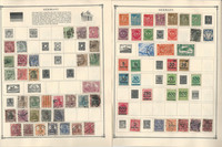 Germany Stamp Collection on 35 Scott Album Pages To 1981