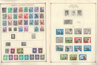 Germany DDR Stamp Collection on 35 Scott Album Pages To 1981