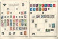 Finland & Greece Stamp Collection on 20 Scott Album Pages To 1981