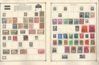 Hungary Stamp Collection on 40 Scott Album Pages To 1981