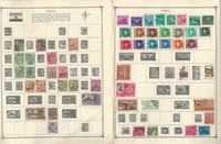 India Stamp Collection on 22 Scott Album Pages To 1981