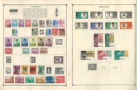Indonesia Stamp Collection on 16 Scott Album Pages To 1981